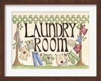 Framed Laundry Room