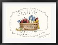 Framed Sewing Basket
