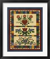 Framed Flower Quilt 2
