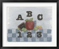 Framed ABC, 123