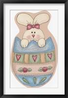 Framed Egg Bunny