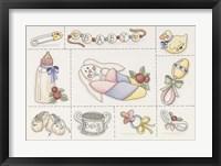 Framed Baby Collage