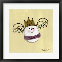 Framed Egg Princess