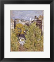 Framed Sacre-Coeur Seen from the Painter's Window Before 1940