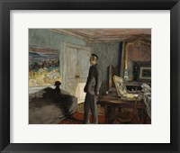 Framed Study for a Portrait of Pierre Bonnard c. 1930
