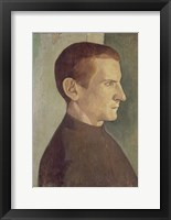 Framed Portrait of the Dutch Painter Jan Verkade, 1893