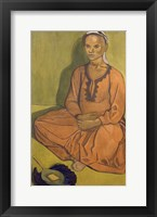 Framed Study of Mulatto Woman, 1915