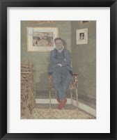 Framed Portrait of Felix Vallotton (1865-1925)