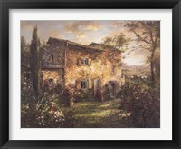 Framed Tuscan Farmhouse