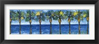 Framed Palms In Paradise