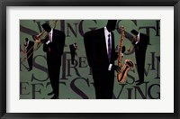 Framed Swing Street Horns