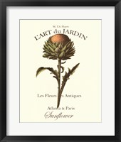 Framed L'art Due Jardin I