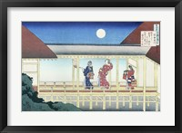 Framed Akazome Emon