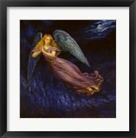 Framed Good Night Angel