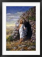 Framed Jesus Rises