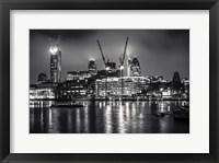 Framed London at Night
