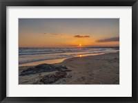 Framed Beach Sunset