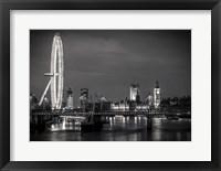 Framed London Eye