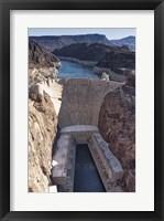 Framed Hoover Dam