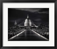 Framed St. Paul's Cathedral