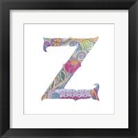 Framed Z