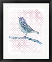 Willow Bird Framed Print