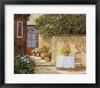 Framed Muretto E Tavolo