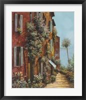 Framed La Strada Verso Il Lago