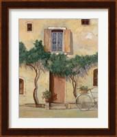 Framed Mezza Bicicletta Sul Muro