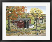 Framed Autumn Pasture