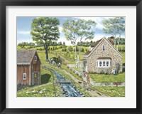 Framed Cottage Pathway