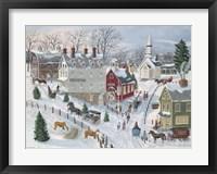 Framed Oak Ridge in Winter