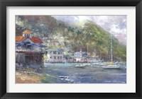 Framed Anchored in Avalon