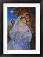 Framed Holy Family