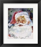 Framed Santa Face