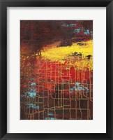 Nimble Morning Canvas I Framed Print