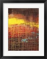 Nimble Morning Canvas III Framed Print