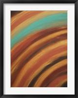 Framed Turquoise Horizon