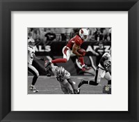 Framed Larry Fitzgerald 2015 Spotlight Action