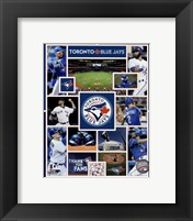 Framed Toronto Blue Jays 2015 Team Composite