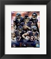Framed Chicago Bears 2015 Team Composite