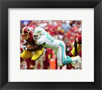 Framed Cameron Wake 2015 Action