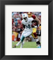 Framed Jarvis Landry 2015 Action