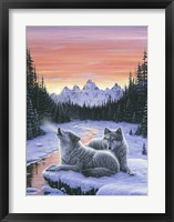 Framed Winter's Dawn