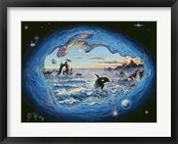 Framed Whales 2