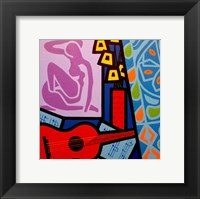 Framed Homage To Matisse 11