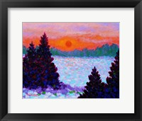 Framed Snowscape