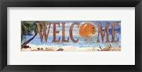 Framed Welcome