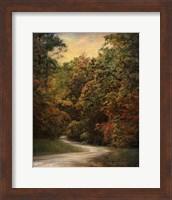 Framed Autumn Forest 1
