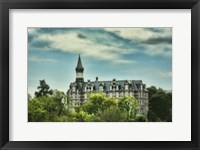 Framed Jubilee Hall At Fisk University Nasvhille Tennessee